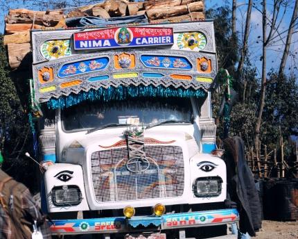 Bhutanese Bus